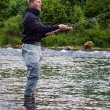Salmon fishing Norway